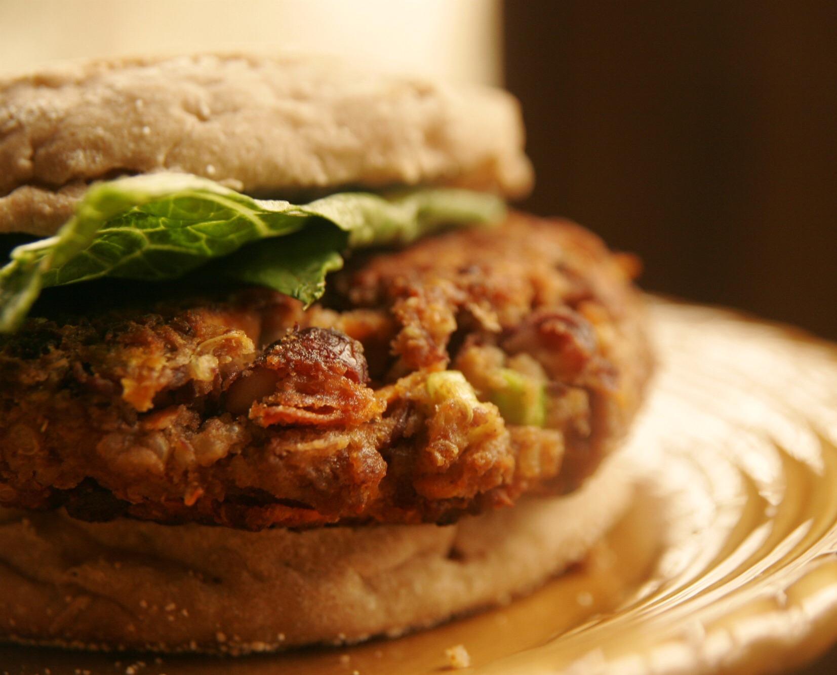 Veggie Vega Burger met Wayonaise